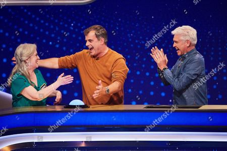 From Possessed  5 Gold Rings: SR4: Ep1 on ITV Pictured: Brenda, Simon Gregson and Phillip Schofield.