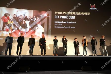 Editorial picture of 'Call My Agent' TV show Season 4 preview, UGC Normandie Champs Elysees, Paris, France - 16 Oct 2020
