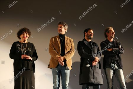 Stock Picture of Liliane Rovere, Thibault de Montalembert, Gregory Montel, Stephane Freiss
