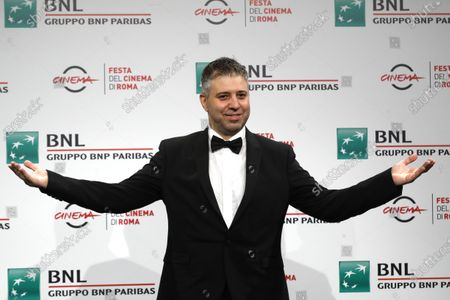 "Director Evgeny Afineevsky poses for photographers during the photo call for the movie ""Francesco"" at the Rome Film Festival, in Rome"