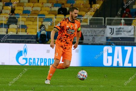Editorial photo of Dynamo vs Juventus in UCL group match, Kyiv, Ukraine - 20 Oct 2020