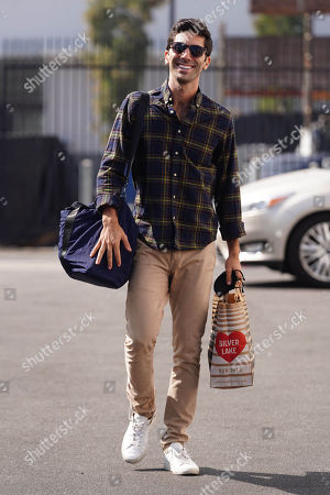 'Dancing with the Stars' TV show rehearsal, Los Angeles, USA - 20 Oct 2020: редакционная картинка