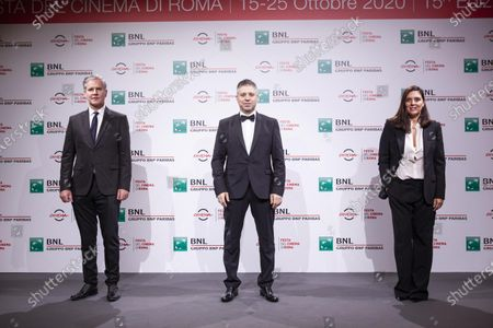 Editorial photo of 'Francesco' photocall, Rome Film Festival, Italy - 21 Oct 2020