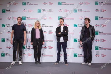 Editorial image of 'Of Our Wounded Brothers' photocall, Rome Film Festival, Italy - 21 Oct 2020
