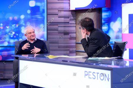Editorial photo of 'Peston' TV show, Series 6, Episode 33, London, UK - 21 Oct 2020