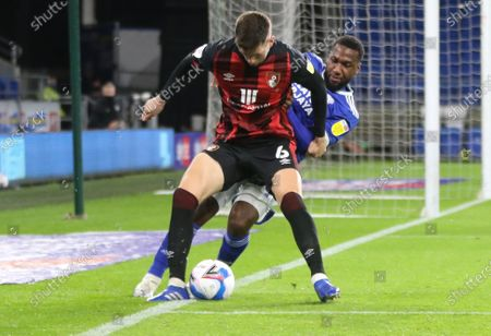 Editorial picture of Cardiff City v AFC Bournemouth, Sky Bet Championship - 21 Oct 2020