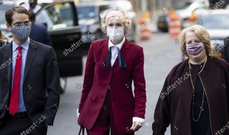 Editorial photo of E. Jean Carroll  Arrives for Hearing at US Federal Court, New York, USA - 21 Oct 2020
