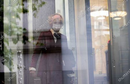 Editorial picture of E. Jean Carroll  Arrives for Hearing at US Federal Court, New York, USA - 21 Oct 2020