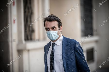 Stock Image of Florian Philippot