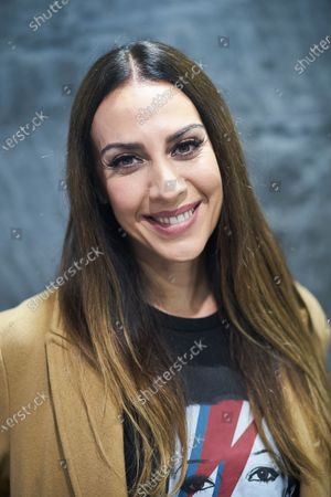 Monica Naranjo during a promotional event for Cinesa at Proyecciones Cinesa