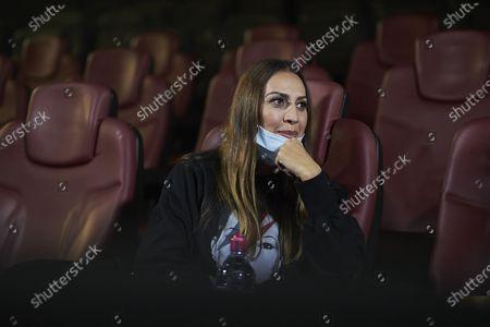 Editorial photo of Monica Naranjo Cinesa photoshoot, Madrid, Spain - 21 Oct 2020