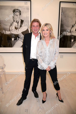 Stock Image of Mark Armstrong and Anthea Turner