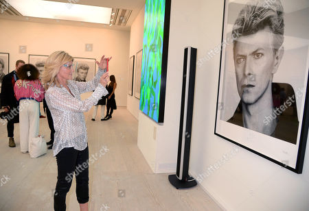 Editorial image of 'David Bowie 20-20 Vision' photography show, The Saatchi Gallery, London, UK  - 21 Oct 2020