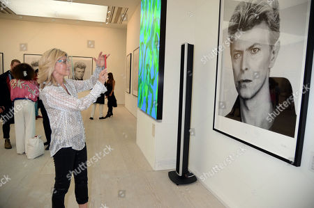 Editorial photo of 'David Bowie 20-20 Vision' photography show, The Saatchi Gallery, London, UK  - 21 Oct 2020