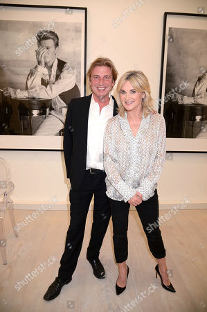 Mark Armstrong and Anthea Turner
