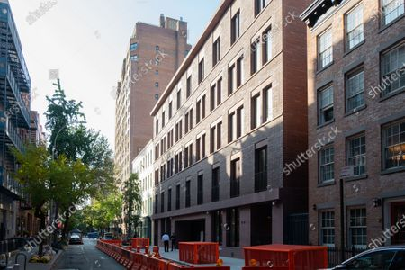 An exterior view of 17 Jane Street in the West Village neighborhood