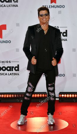 Carlos Vives arrives at the Billboard Latin Music Awards, at the BB&T Center in Sunrise, Fla