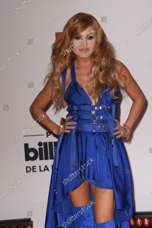 Editorial image of Billboard Latin Music Awards, Arrivals, BB&T Center, Florida, USA - 21 Oct 2020