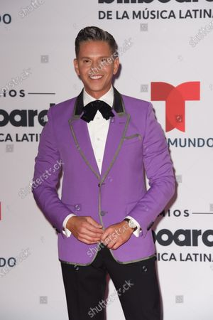 Rodner Figueroa arrives at the Billboard Latin Music Awards