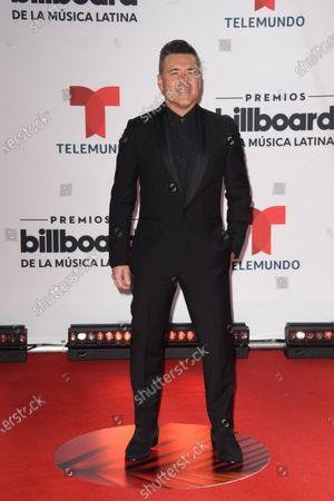 Stock Image of Jorge Bernal arrives at the Billboard Latin Music Awards