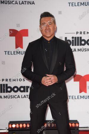 Jorge Bernal arrives at the Billboard Latin Music Awards