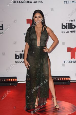 Stock Picture of Ana Jurka arrives at the Billboard Latin Music Awards