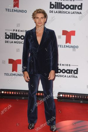 Christian Acosta arrives at the Billboard Latin Music Awards