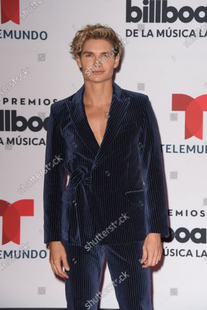 Stock Picture of Christian Acosta arrives at the Billboard Latin Music Awards