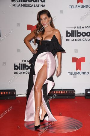 Editorial picture of Billboard Latin Music Awards, Arrivals, BB&T Center, Florida, USA - 21 Oct 2020