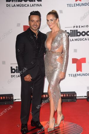 Editorial image of Billboard Latin Music Awards, Arrivals, BB&T Center, Florida, USA - 21 Oct 2020