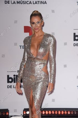 Agueda Lopez arrives at the Billboard Latin Music Awards