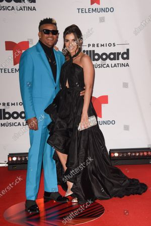 Randy Malcom arrives at the Billboard Latin Music Awards