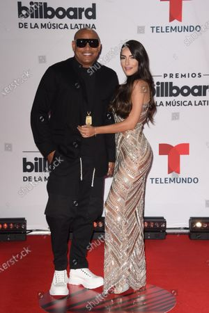 Stock Photo of Alexander Delgado arrives at the Billboard Latin Music Awards