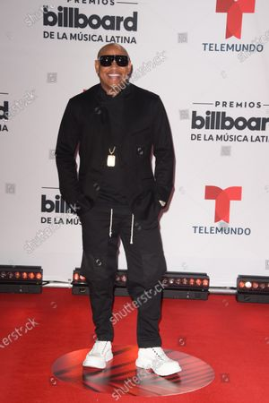 Alexander Delgado arrives at the Billboard Latin Music Awards