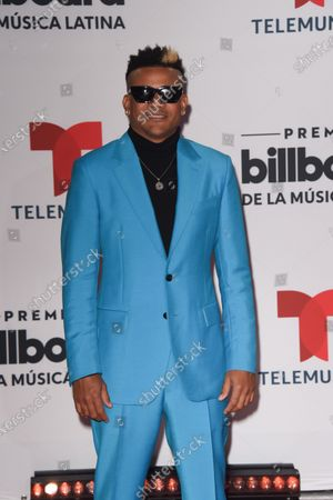 Stock Photo of Randy Malcom arrives at the Billboard Latin Music Awards