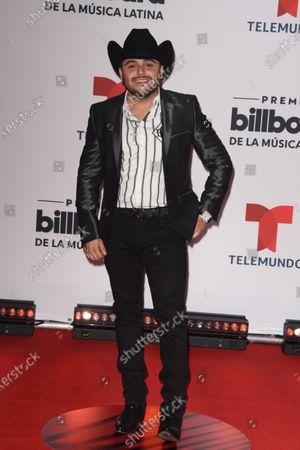 Stock Image of Gerardo Ortiz arrives at the Billboard Latin Music Awards