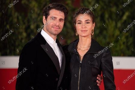 Giampaolo Morelli and Gloria Bellicchi