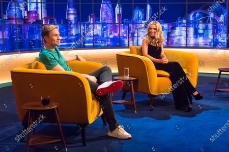 Russell Howard and Katherine Jenkins