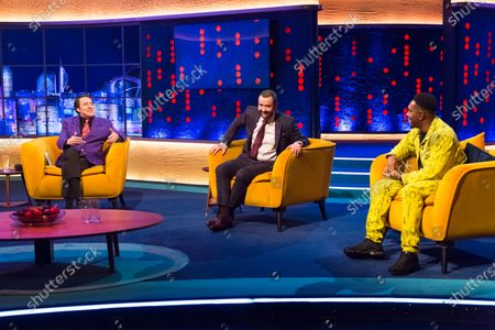 Editorial image of 'The Jonathan Ross Show' TV show, Series 16, Episode 2, London, UK - 24 Oct 2020