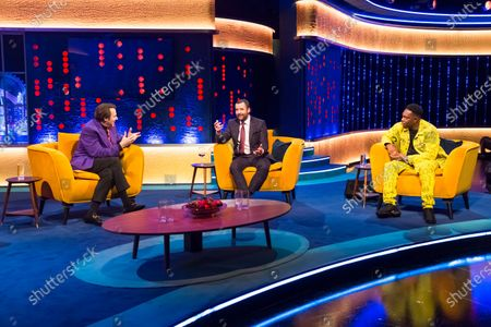 Editorial photo of 'The Jonathan Ross Show' TV show, Series 16, Episode 2, London, UK - 24 Oct 2020