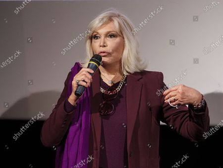 "Amanda Lear attends ""Miss"" Premiere at the Club Etoile Cinema"