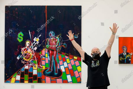 Editorial image of Preview of STARTnet Art Fair at the Saatchi Gallery, LONDON, UK - 21 Oct 2020