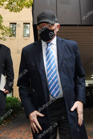 Boris Becker leaves Southwark Crown Court