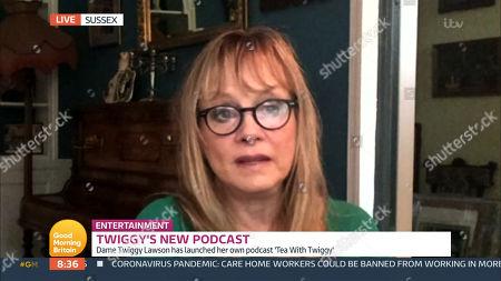 Editorial photo of 'Good Morning Britain' TV Show, London, UK - 22 Oct 2020
