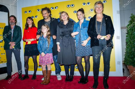 (L-R) Berenice Bejo, Vincent Elbaz, Shanna Keil, Carine Rolland, Marie Gillain and Veronique Bouriser
