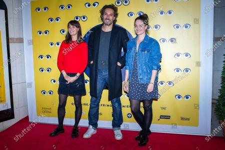 (L-R) Berenice Bejo, Vincent Elbaz and Marie Gillain