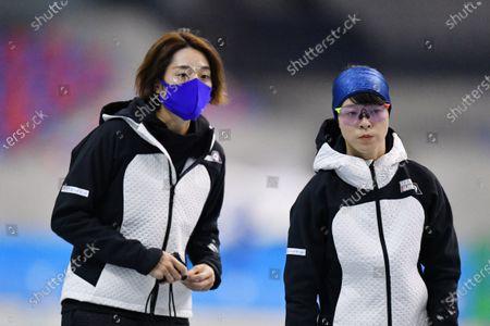 Editorial photo of Speed Skating: 27th All Japan Speed Skating Single Distance Championships, Nagano, Japan - 22 Oct 2020