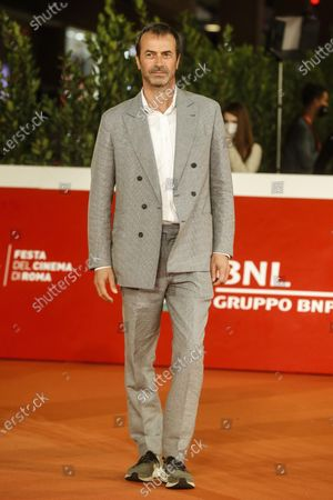 Stock Photo of Andrea Occhipinti arrive for the screening of ''El olvido que seremos'' at the 15th annual Rome International Film Festival, in Rome, Italy, 22 October 2020. The film festival runs from 15 to 25 October.