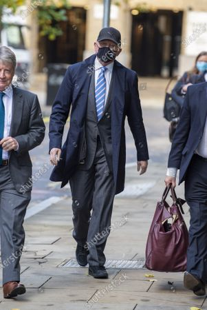 Former tennis professional Boris Becker (52), wearing a facemask arrives at Southwark Crown Court for a Plea and Trial Preparation where he faces charges of failure to comply with a legal obligation to disclose financial information when filing for bankruptcy in 2017 including a number of properties and bank accounts.