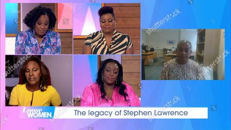 Editorial photo of 'Loose Women' TV Show, London, UK - 22 Oct 2020